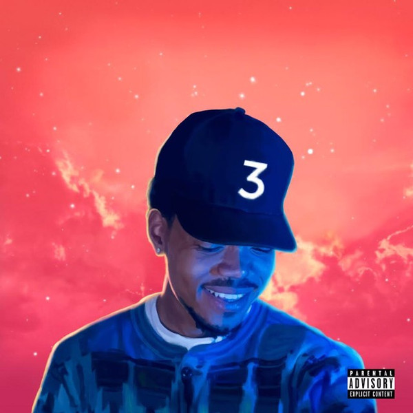 CHANCE THE RAPPER - COLORING BOOK (SELF-RELEASED, 2016)