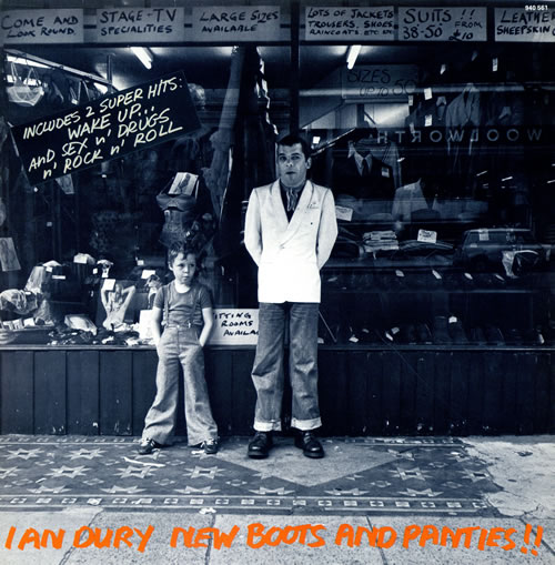 IAN DURY AND THE BLOCKHEADS - NEW BOOTS AND PANTIES!! (STIFF RECORDS, 1977)