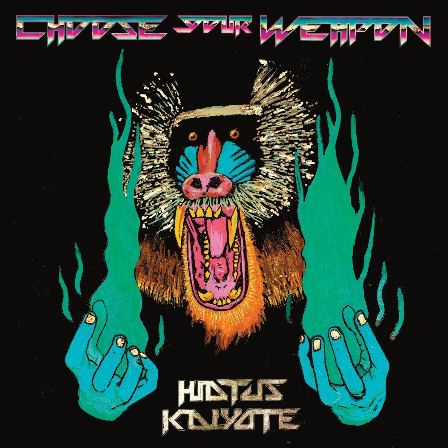 HIATUS KAIYOTE - CHOOSE YOUR WEAPON (FLYING BUDDHA, 2015)