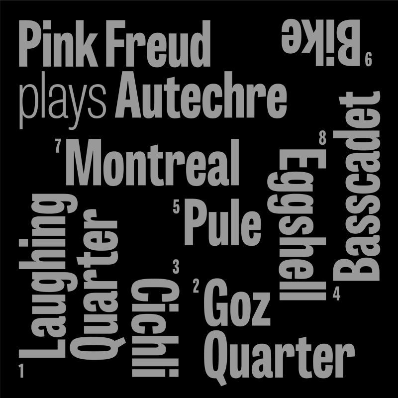 PINK FREUD - PLAYS AUTECHRE (MORE MUSIC AGENCY, 2015)