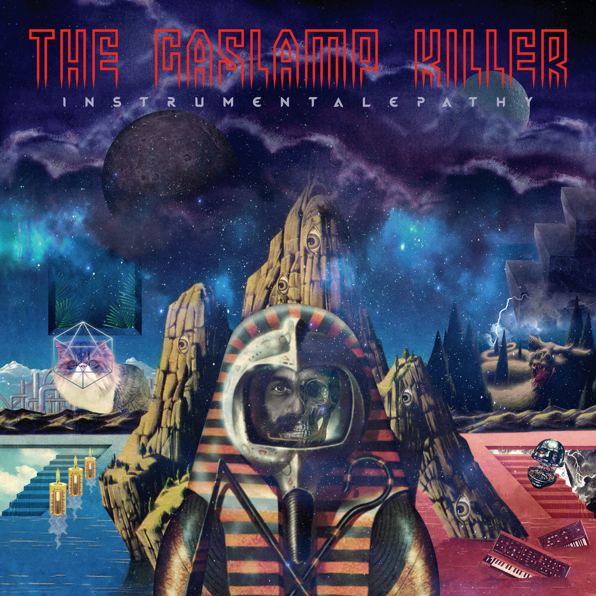 THE GASLAMP KILLER - INSTRUMENTALEPATHY (CUSS RECORDS, 2016)