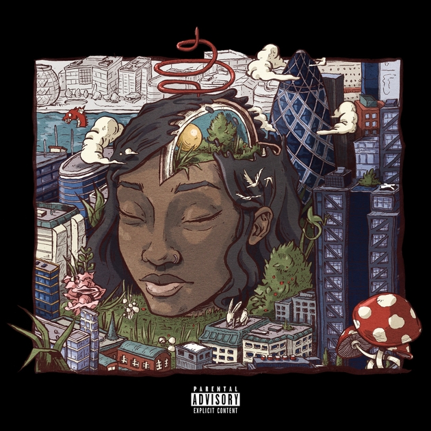 LITTLE SIMZ - WELCOME TO WONDERLAND (AGE 101 MUSIC, 2016)