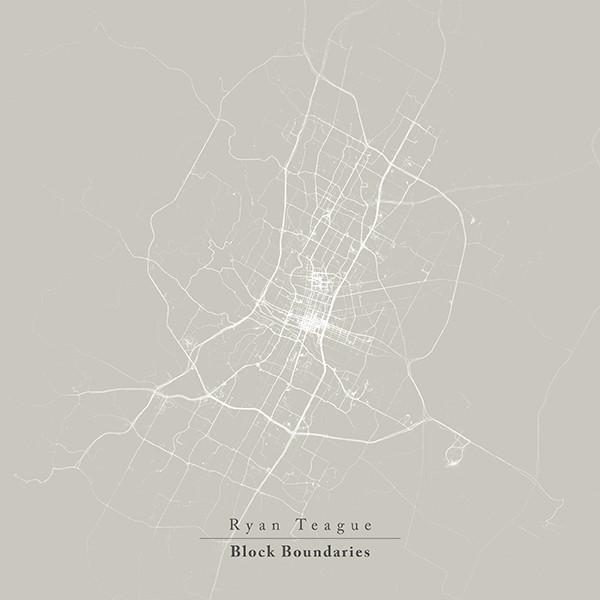 RYAN TEAGUE - BLOCK BOUNDARIES (VILLAGE GREEN, 2014)