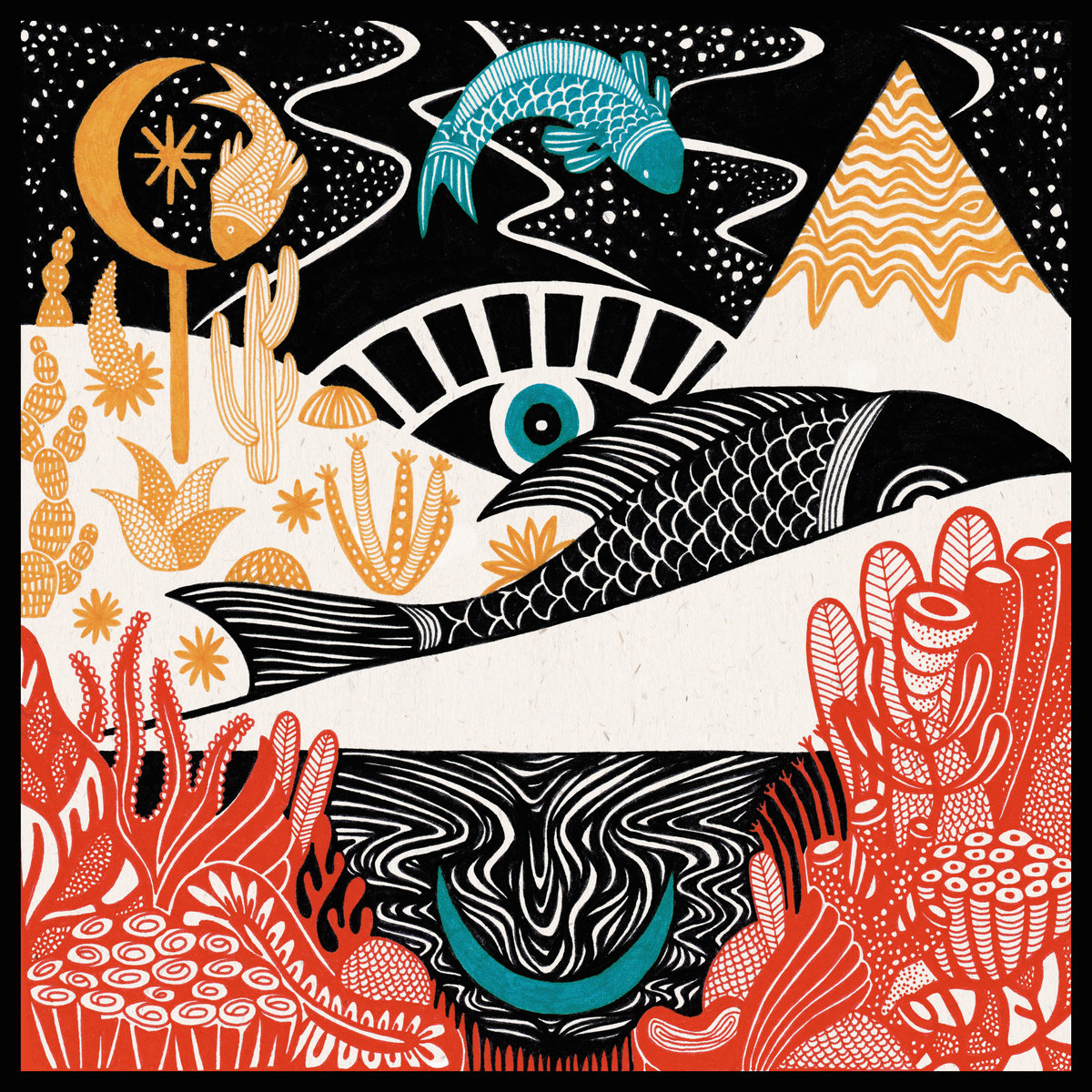 YAZZ AHMED - THE SPACE BETWEEN THE FISH & THE MOON (NAIM RECORD, 2017)