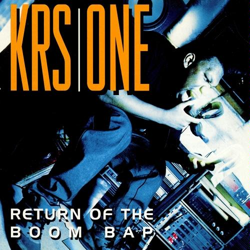 KRS ONE - RETURN OF THE BOOM BAP (JIVE RECORDS, 1993)