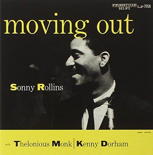 SONNY ROLLINS – MOVING OUT (PRESTIGE, 1956)