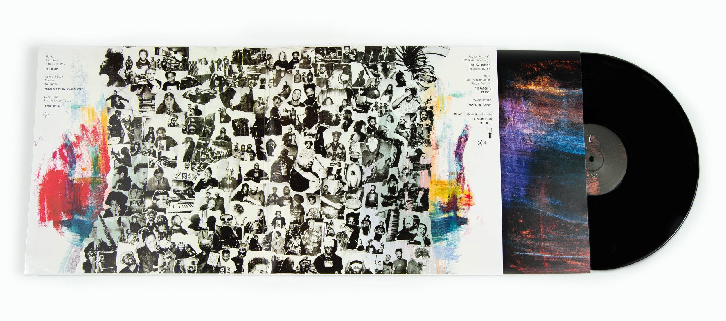 Artwork by Fabrice Bourgelle and Anja Ngozi / Design by Raimund Wong.