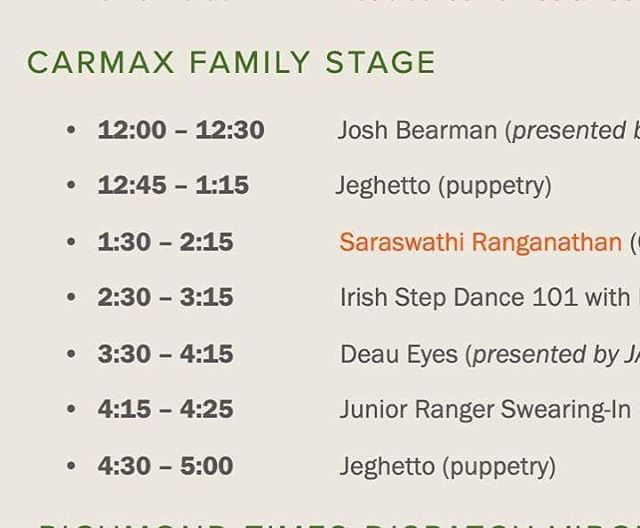 Catch @pfbearman this weekend at the @rvafolkfest ! noon on saturday at the Family Stage, 1ish on Sunday, playing tunes for the oyster shucking competition with @jaredwpool , @newgrassvcu , and maybe @jjakesellerss !