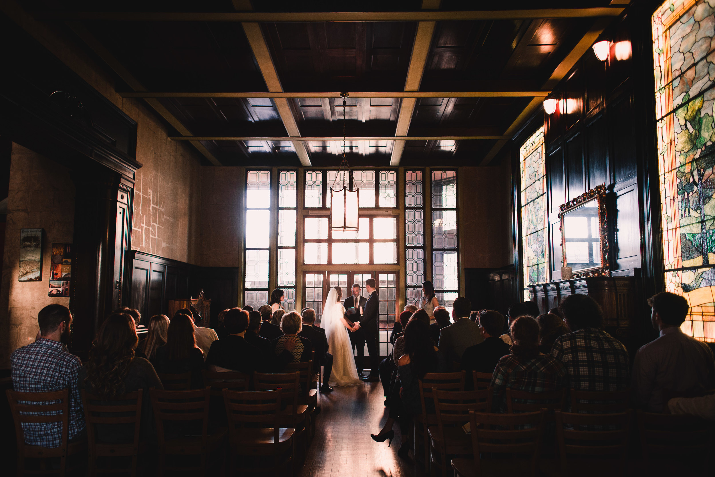 ALEX & NICOLE / OMAHA WEDDING / LUCILE'S OLD MARKET AND LE BOUILLON