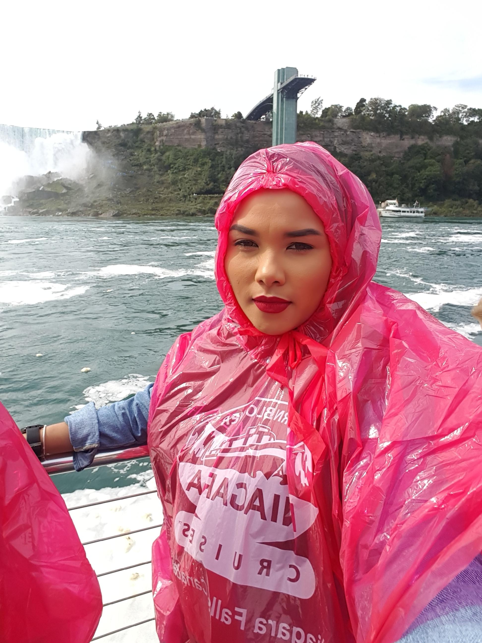 Hornblower cruise at Niagara Falls
