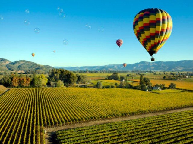An absolutely amazing start to your morning is anticipated with this sunrise hot air balloon adventure over the Napa Valley. Top the experience off with a Michelin worthy bubbly champagne brunch.