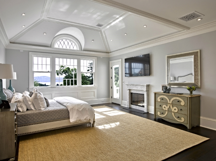 Soothing master bedroom Tarrytown
