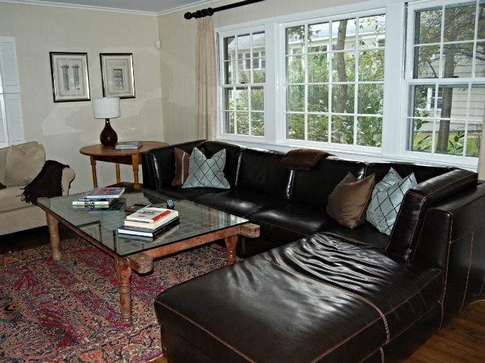 Eclectic family room in Tarrytown, NY