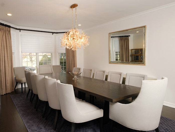 A beautiful dining room in an Irvington house