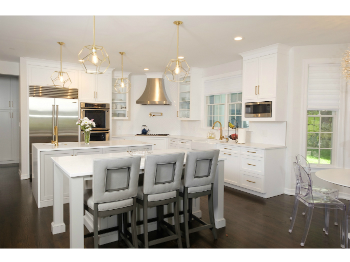 A beautiful kitchen in an Irvington house