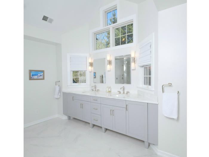 Bathroom in an Irvington, NY house