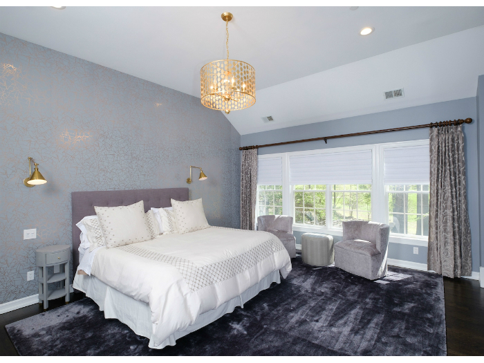 Beautiful bedroom in an Irvington, NY house
