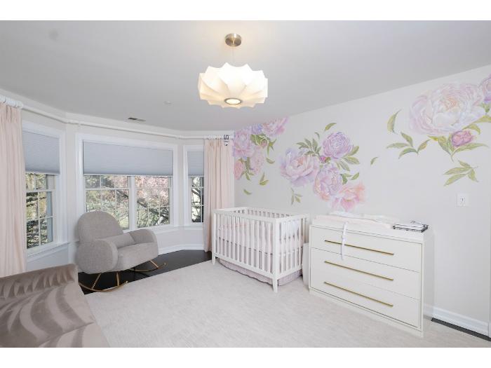 A beautiful nursery in an Irvington, NY house