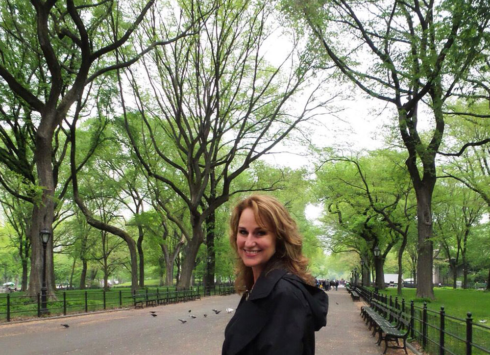 The Writers' Walk in Central Park inspired the diptych painting below, which is currently in progress in the studio.
