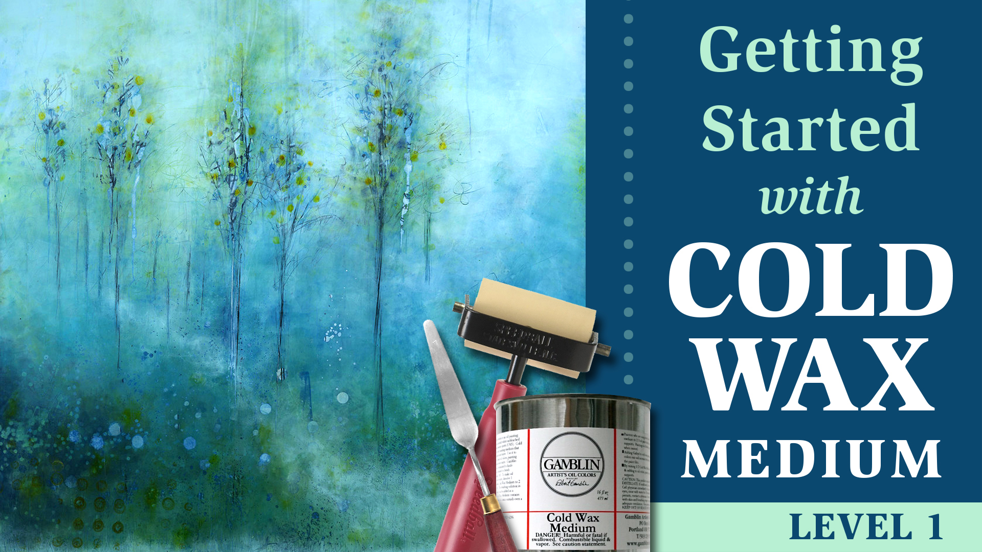 Getting Started with Cold Wax Medium - Level 1 - Skillshare