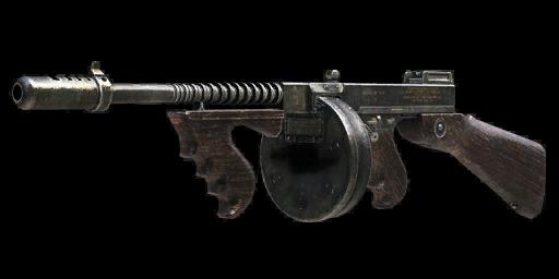 New weapon: M1928 Thompson