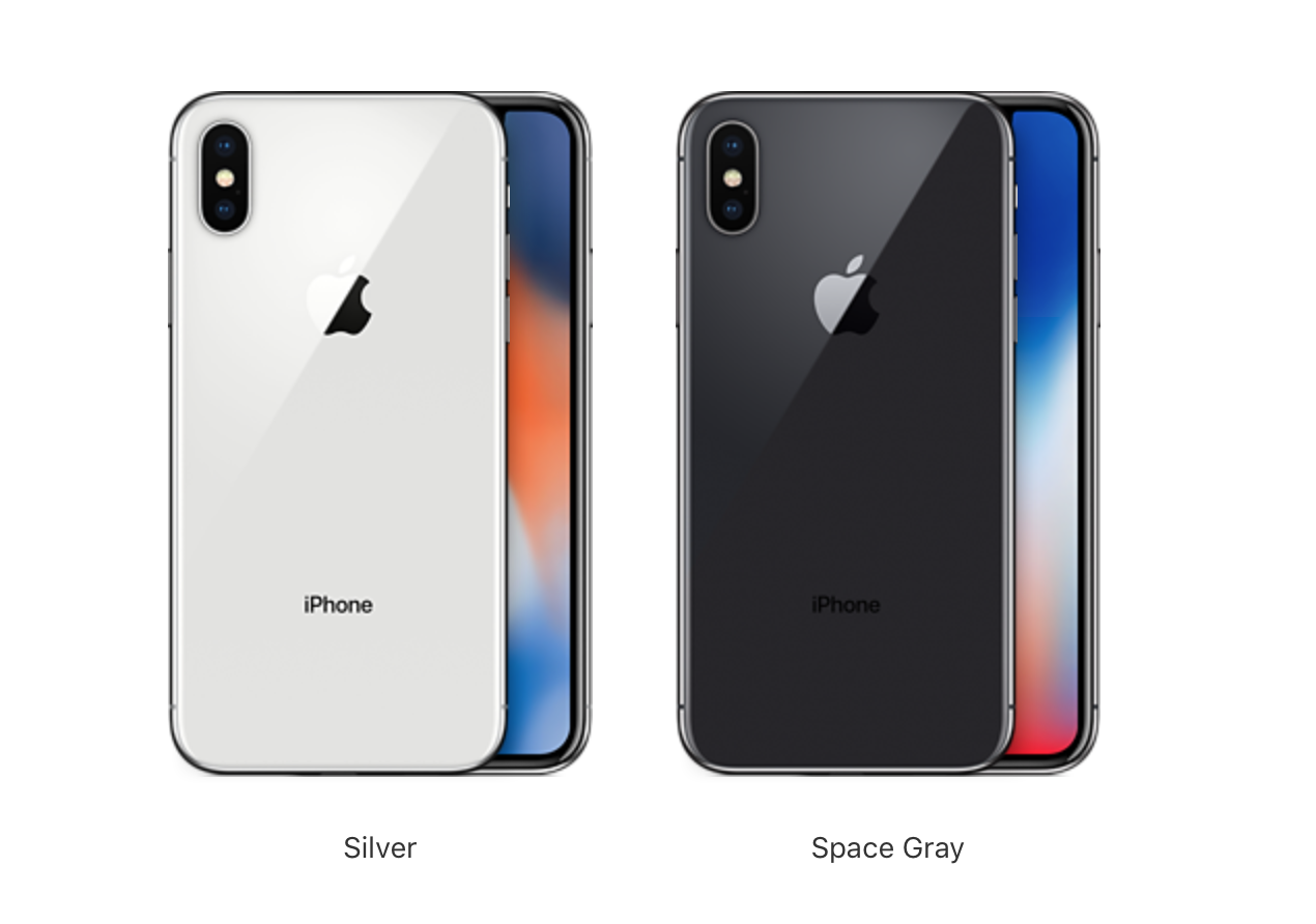iPhone-X-Silver-Space-Gray