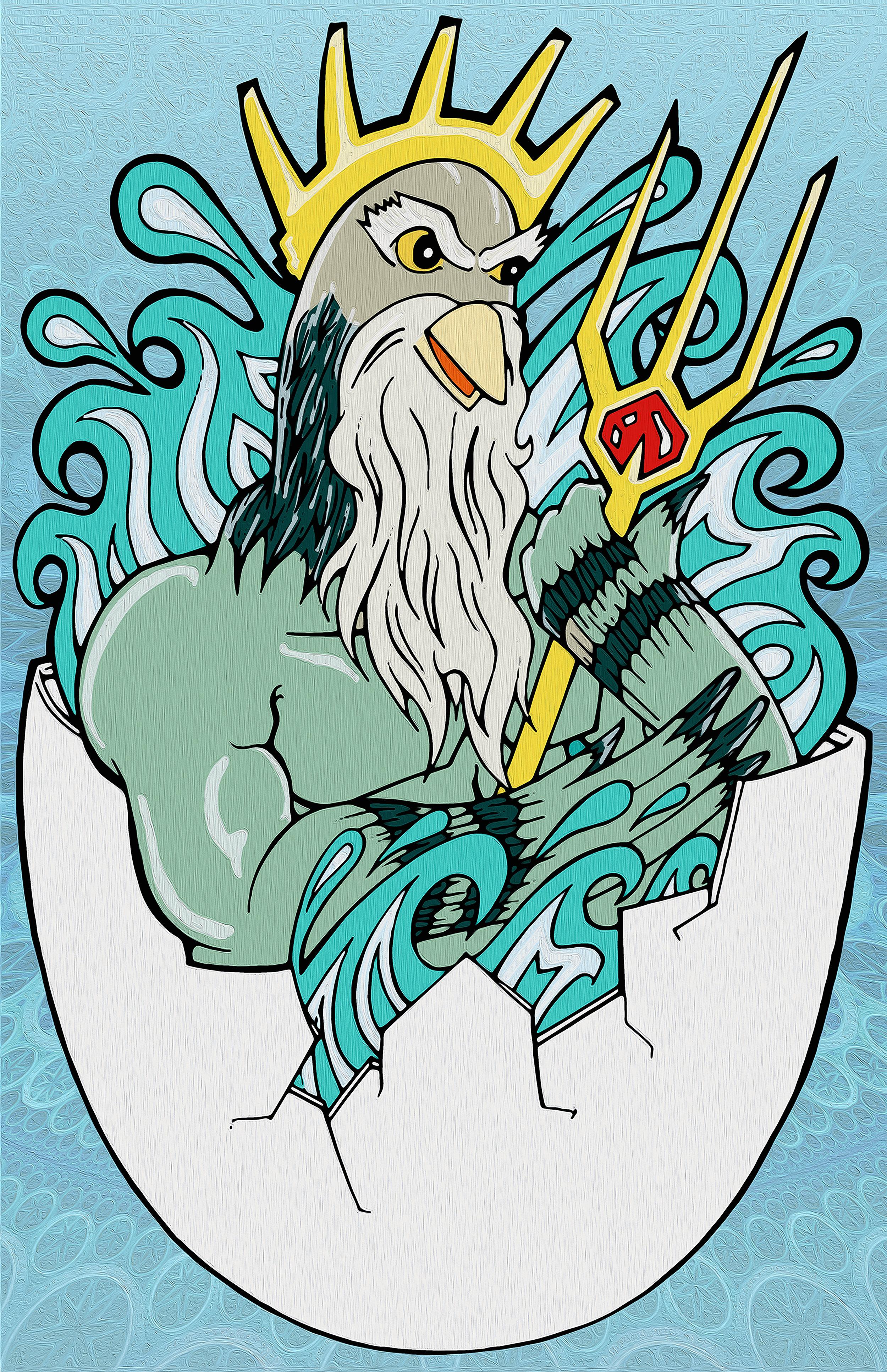 Poseidon Pigeon