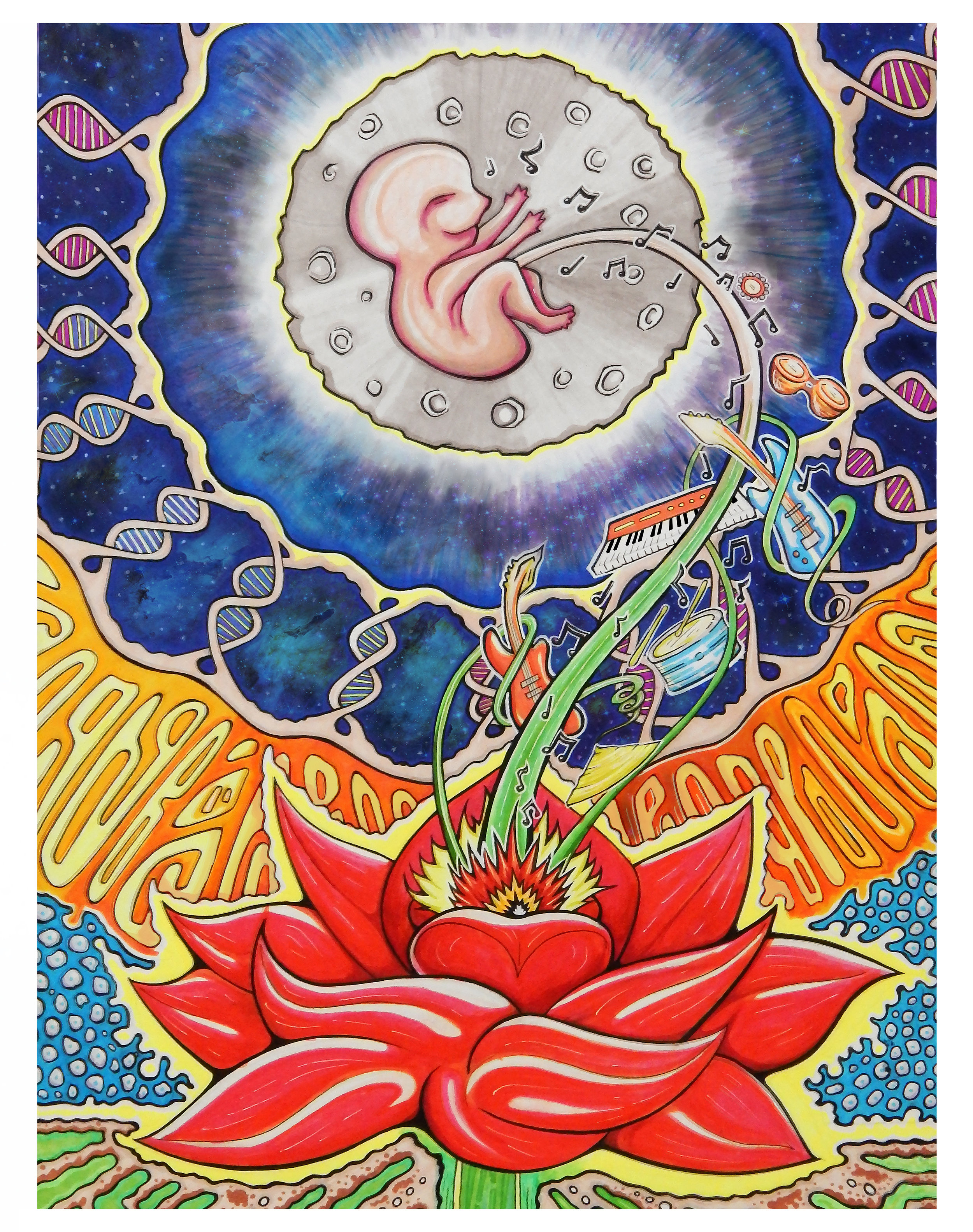 Umbilical Moonrise