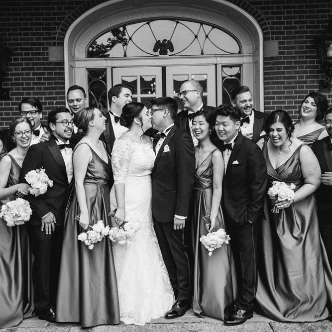 Black Tie Wedding in Southeast Michigan - Real Wedding
