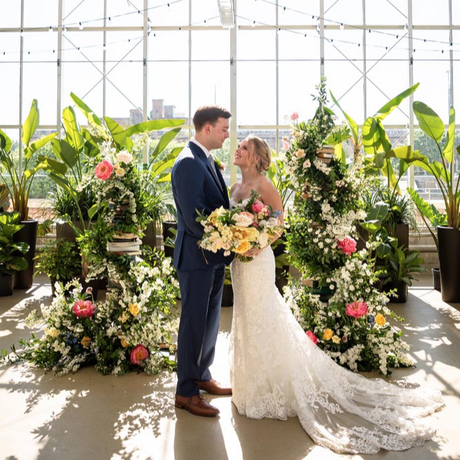 Floral Filled Grand Rapids Wedding - Real Wedding