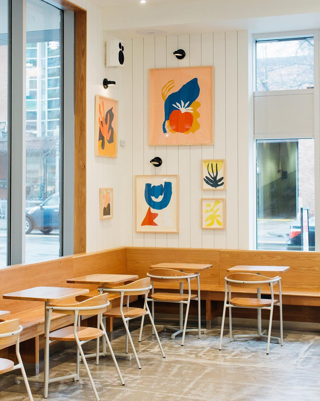 A myriad of Tappan prints in the Logan Circle   SWEETGREEN   in Washington D.C.