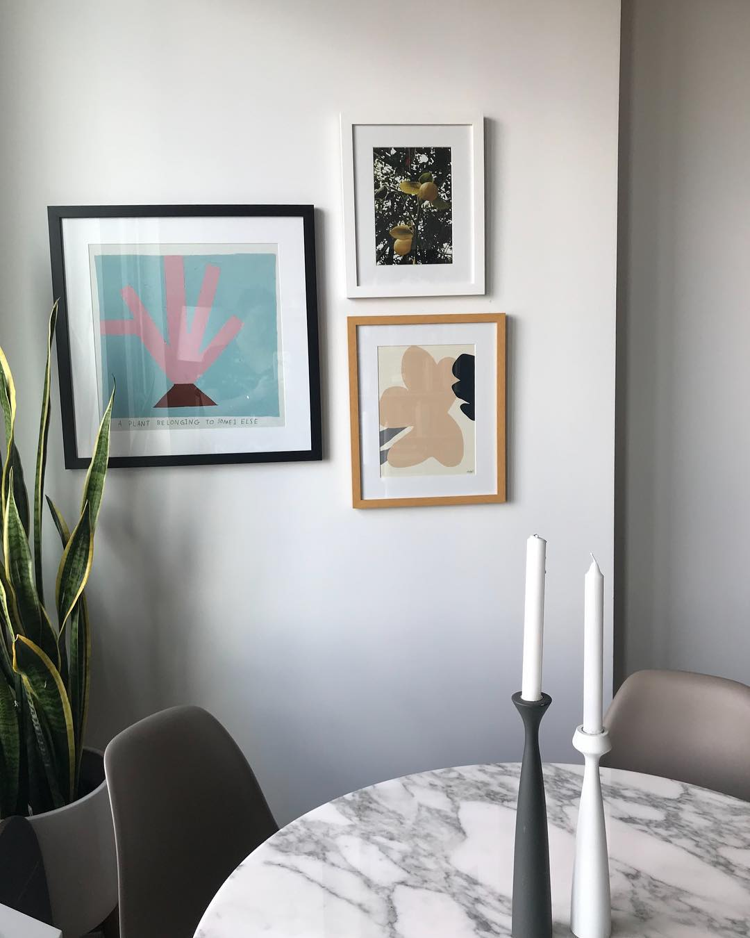 A print in the home of editor   KELLY GALLAGHER  .
