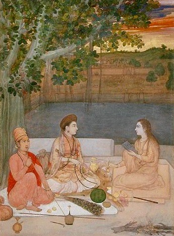 A 17th Century painting of female Nath Yoginis.  By Ms Sarah Welch - Own work, CC BY-SA 4.0, https://commons.wikimedia.org/w/index.php?curid=46264292