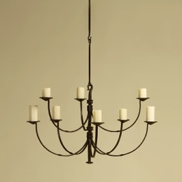 An updated twist on an antique style. Light and Airy!