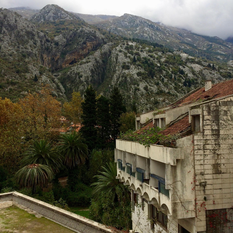 Hotel Fjord. Kotor, Montenegro.