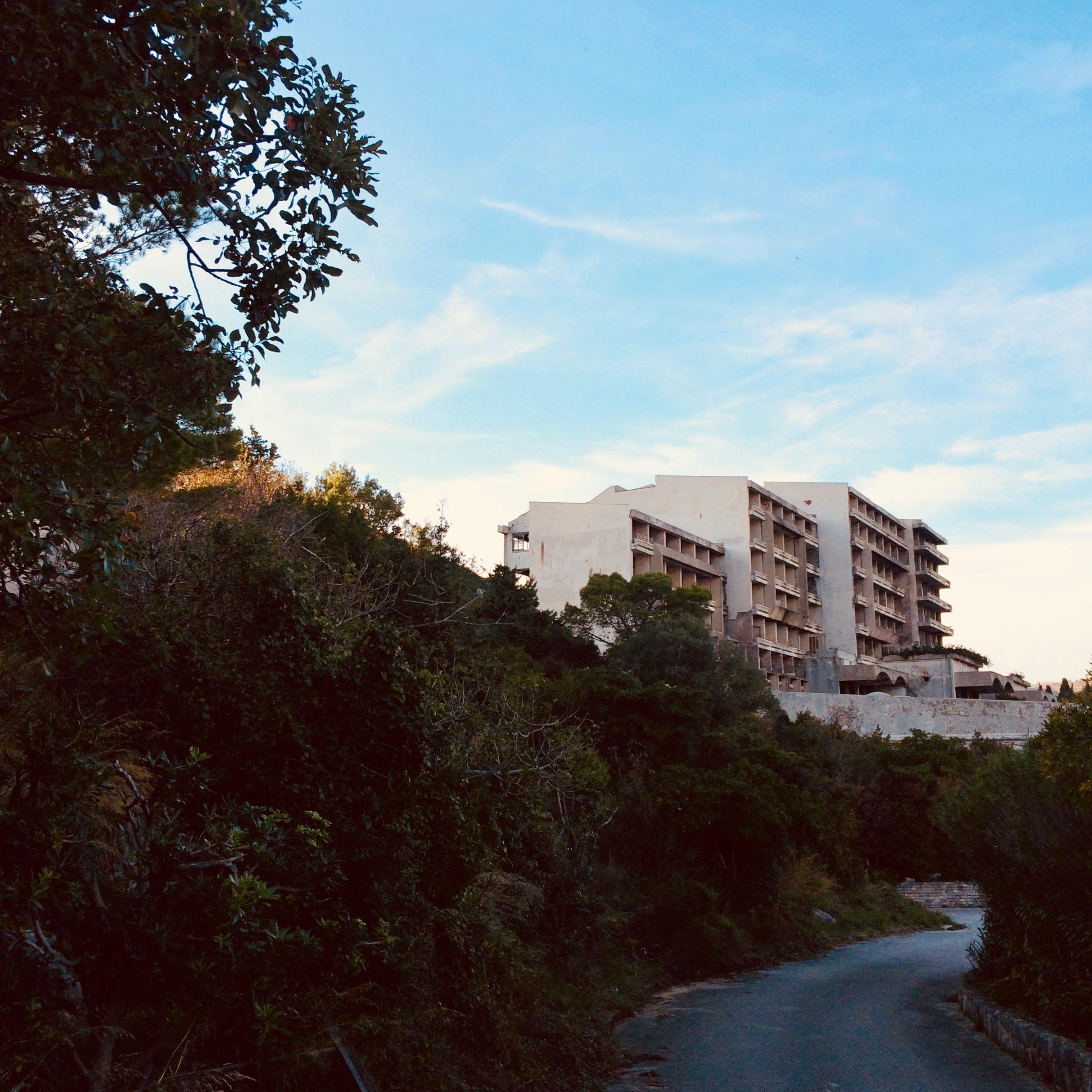 Hotel Kupari. Kupari, Croatia.
