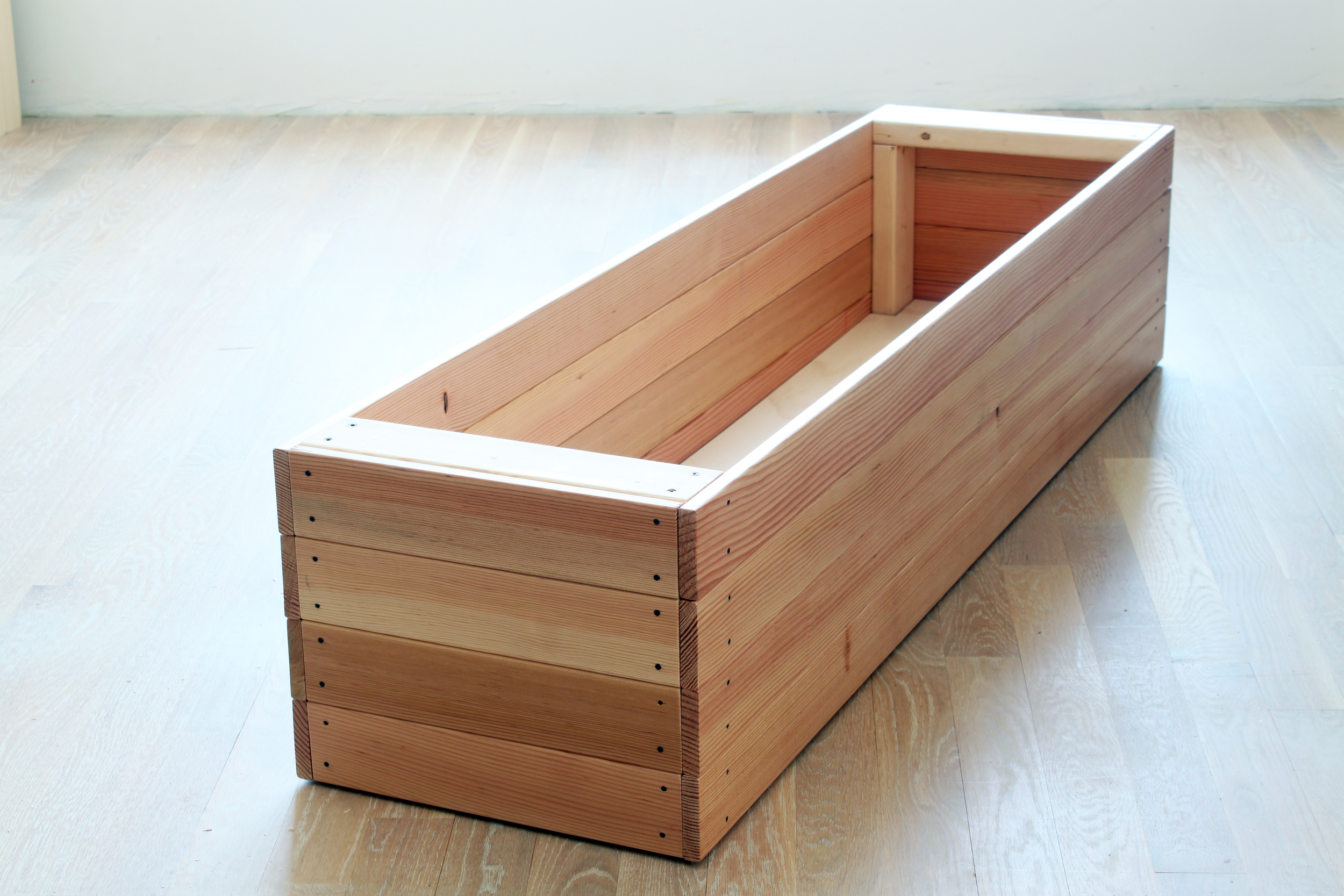 blanket box no lid