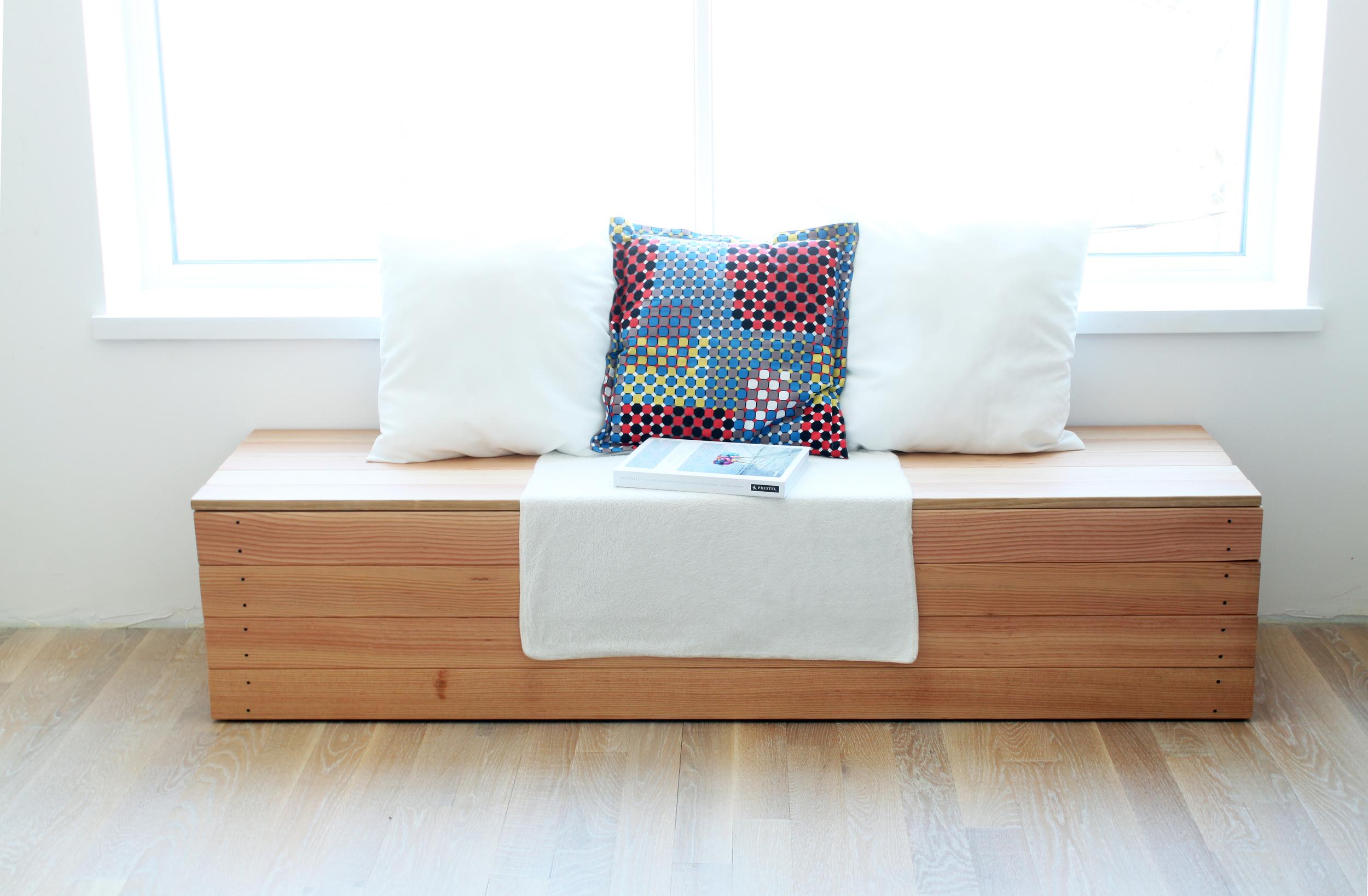 blanket box seat