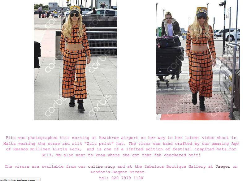 Rita Ora  Age of Reason for Jaegar - 25/06/2013