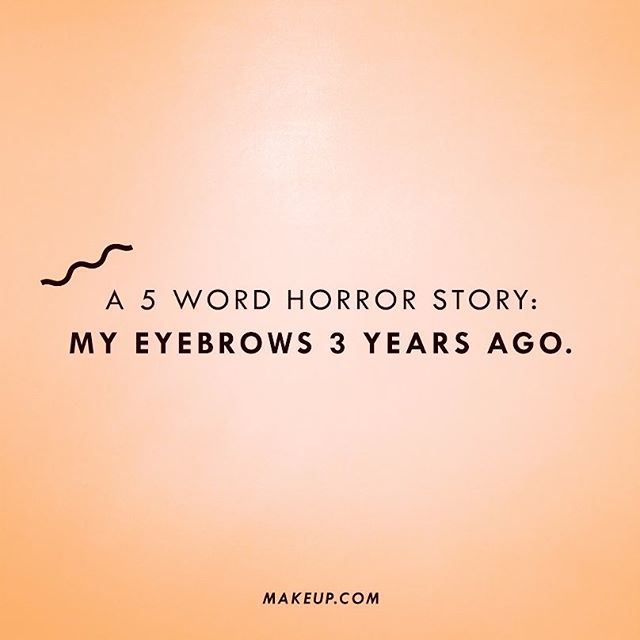 True.  Speaking of horror stories.... Halloween season is quickly approaching 😍🙏🏼🙌🏽 . . . . #brows #microblading #halloweenmakeup