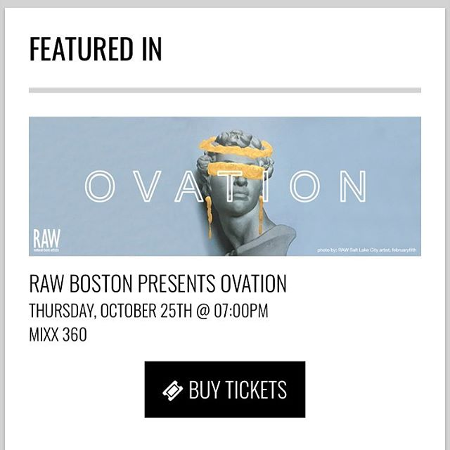 http://rawartists.org/entyremakeovers  Please come out and support us at our RAW OVATION show on October 25th . . All ticket purchases can be made at the link listed above and in our bio! . . We appreciate all of your support and hope to see you next Thursday!