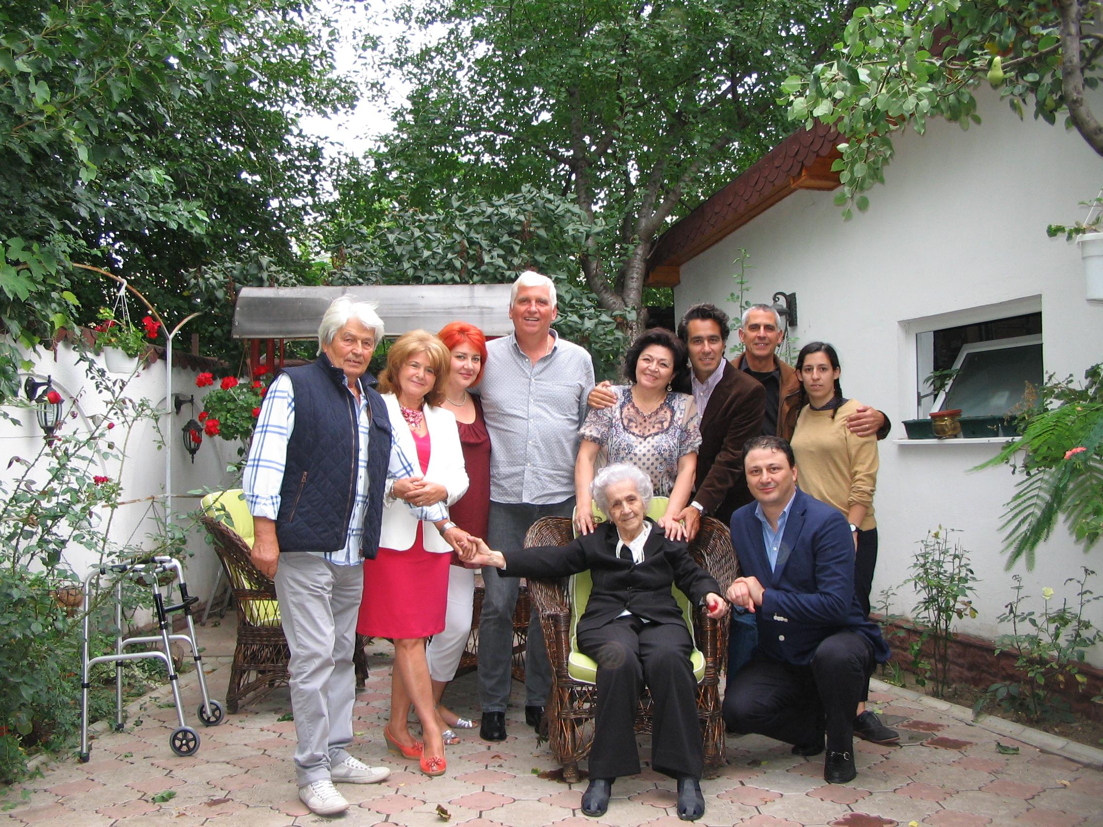 [a portion of] The Celibidache Family