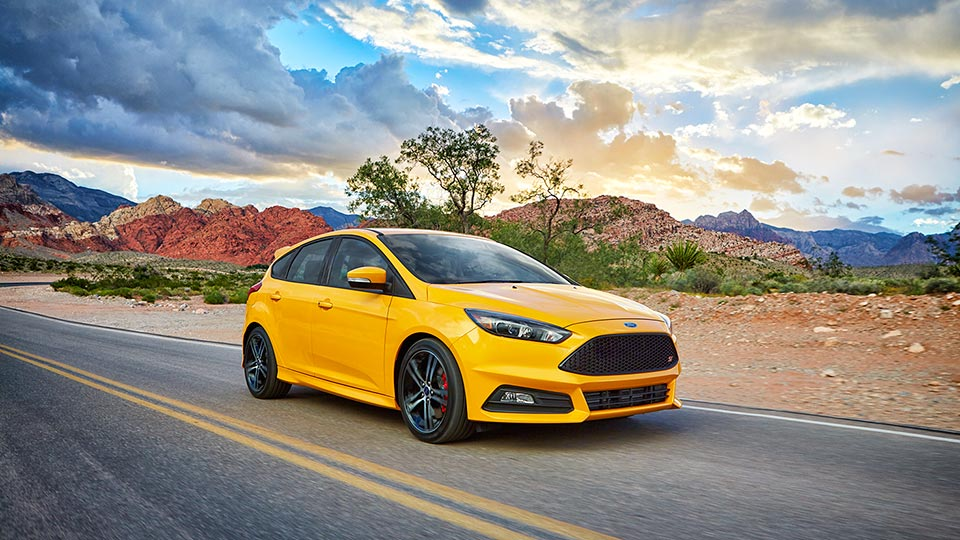 5. Ford Focus ST - $308/month
