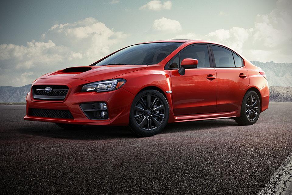 4. Subaru WRX - From $314/month