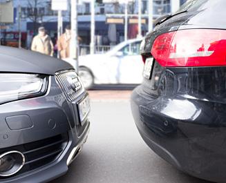 Standard parking distance in Germany.