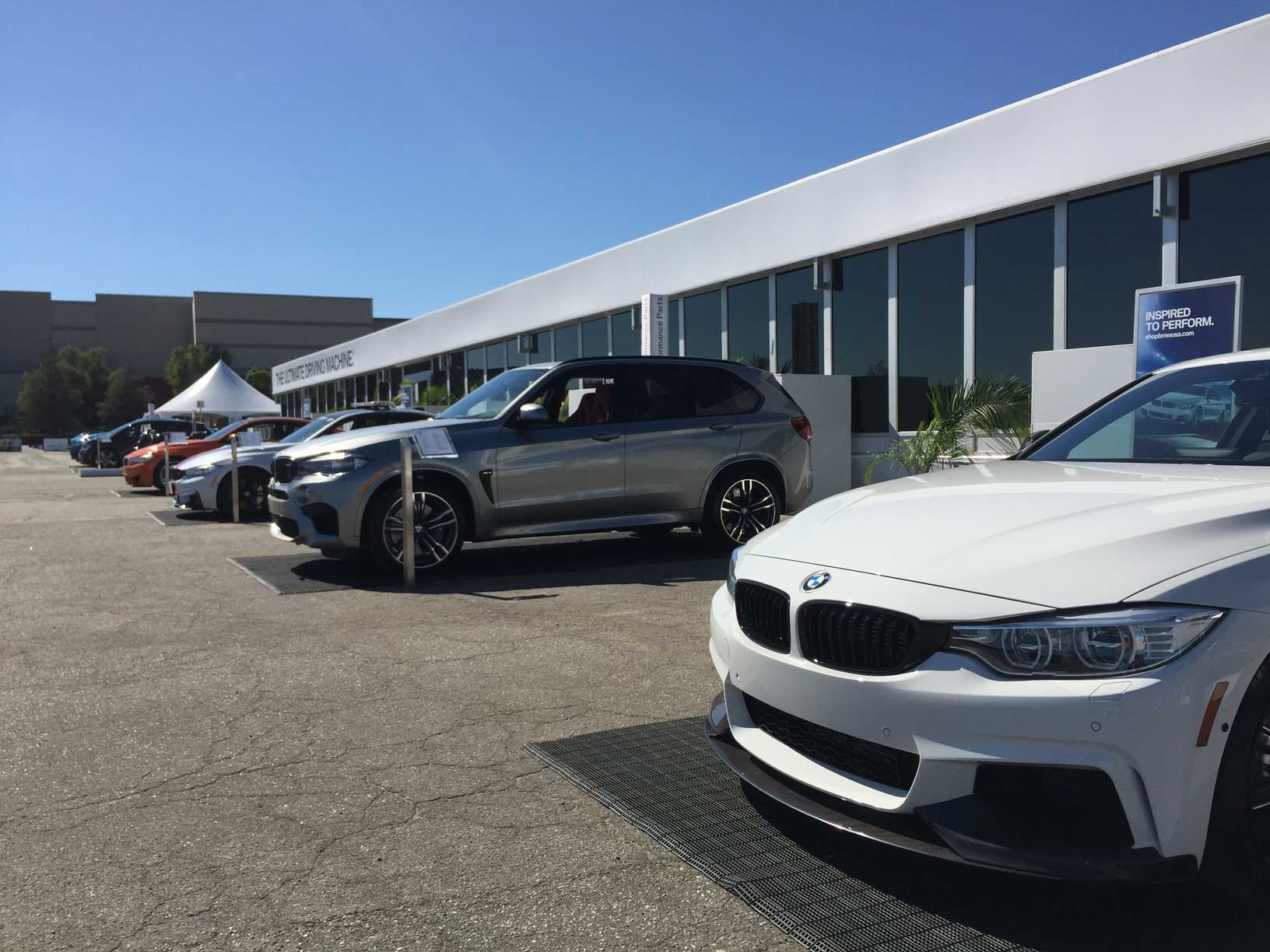 BMW Ultimate Driving Experience 2015 – Main Reception Hall
