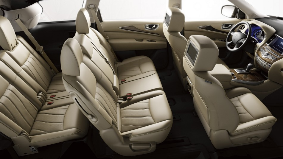 Three-rows of seating (source: infinitiusa.com)