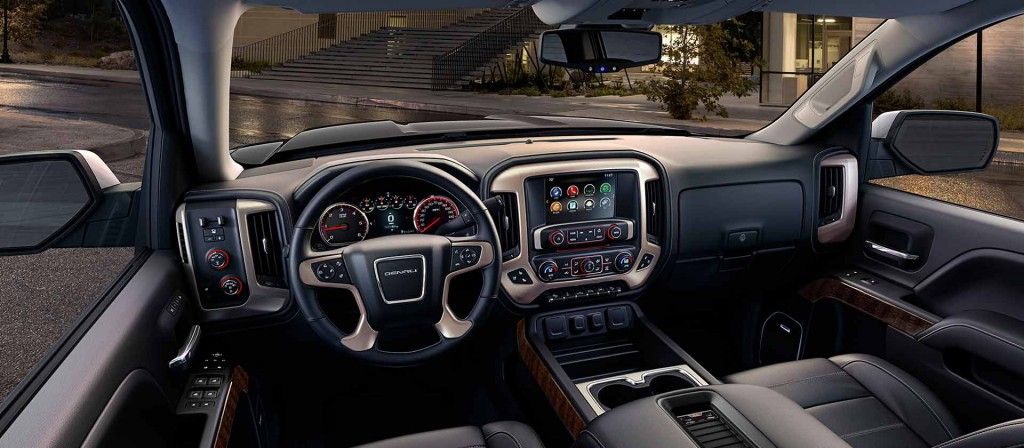 With a heated steering wheel, cooled seats, and Magnetic Ride Control, Sierra 1500 Denali is equipped with every amenity imaginable in a pickup truck.