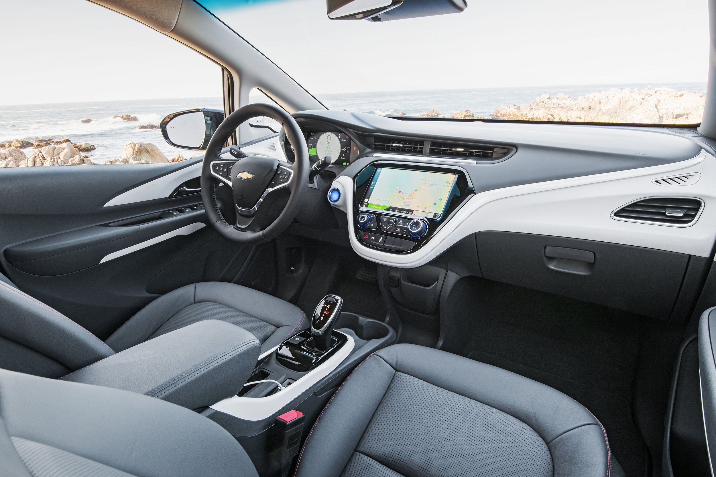 2017 Bolt EV Premier interior (source: media.gm.com)