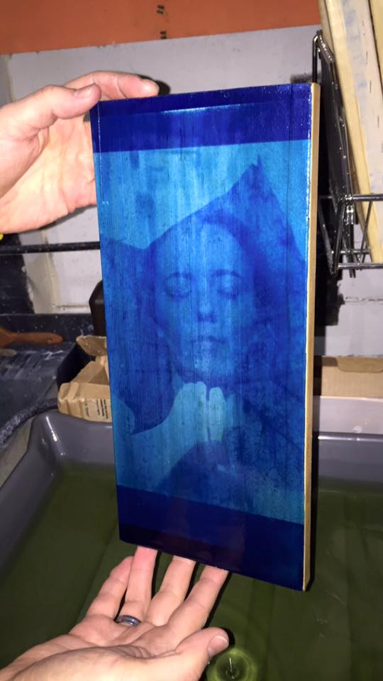 The final iL Friday for January will be printing on wood! The cost is $20 for the materials and refreshments. -